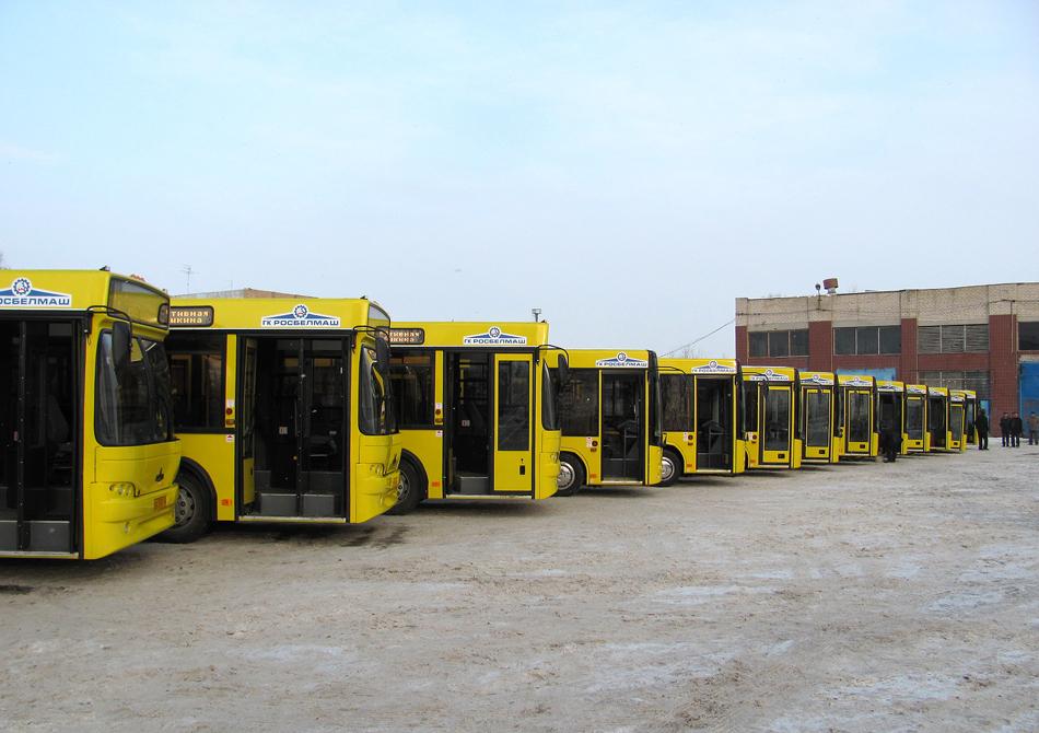 Samara region — Bus parks
