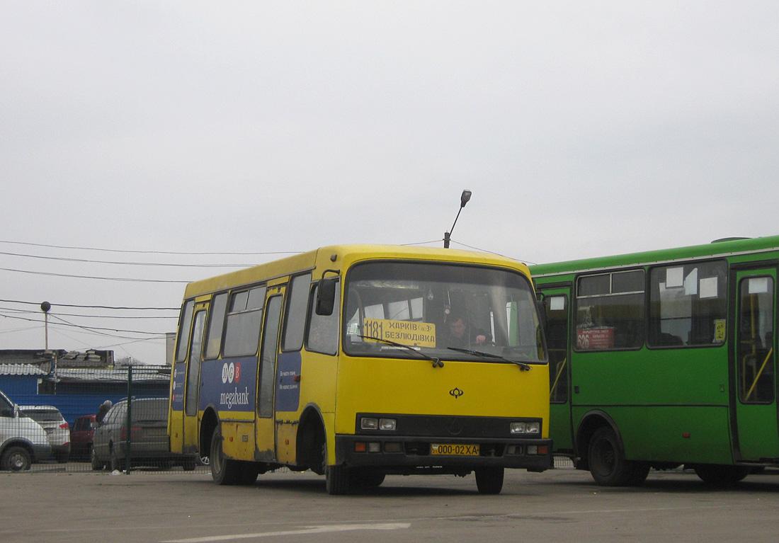 Kharkov region, Bogdan A091 # 000-02 ХА