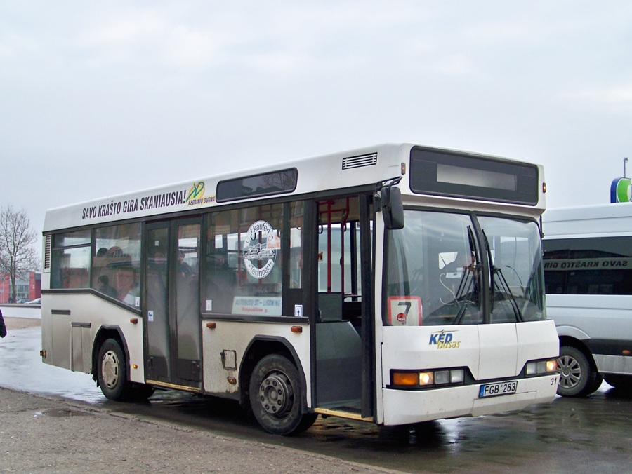 Lithuania, Neoplan N4007NF # 31