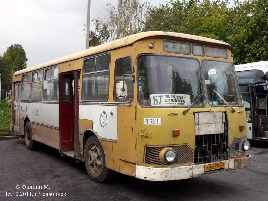 Chelyabinsk region, LiAZ-677M # 4611