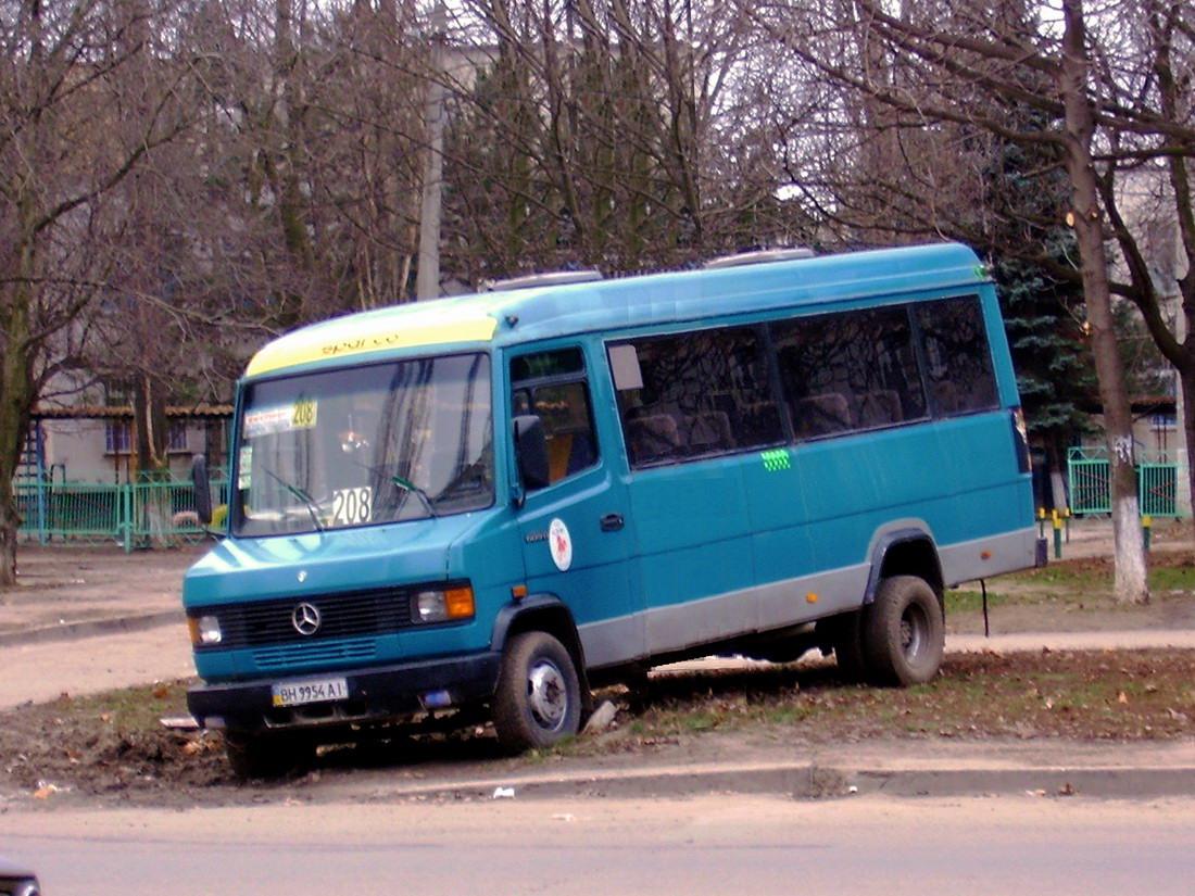 Odessa region, Mercedes-Benz T2 609D # 687