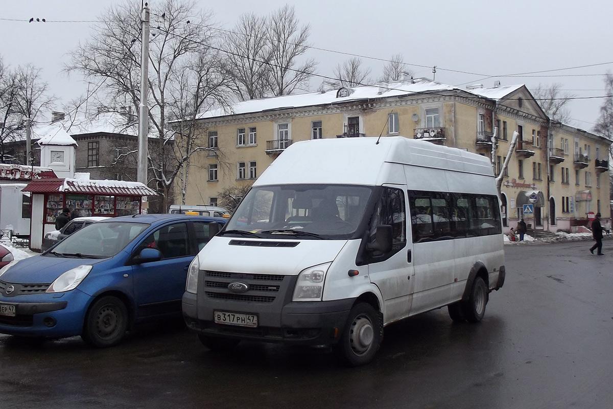 Leningrad region, PAZ-3030 (Ford Transit) # В 317 РН 47