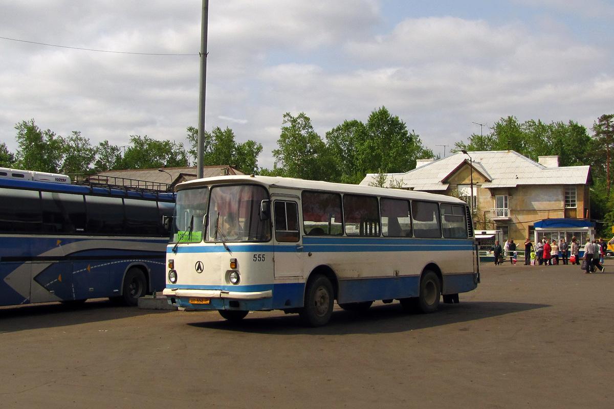 Irkutsk region, LAZ-695N # 555