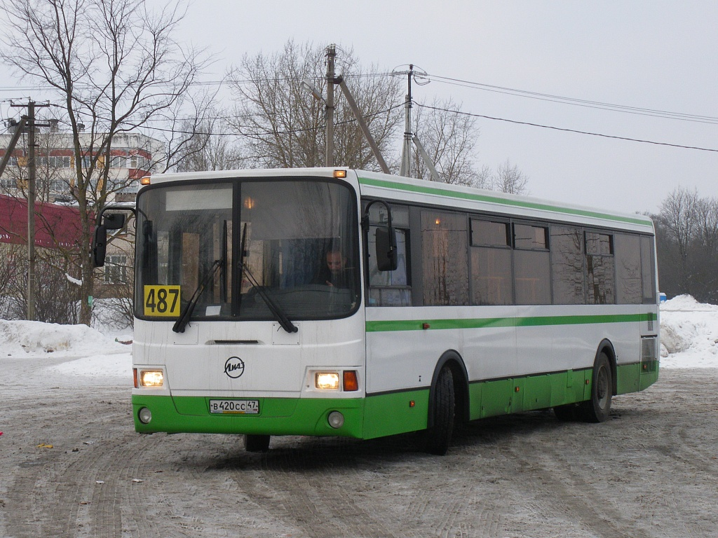 Saint-Petersburg, LiAZ-5256.53 # 002