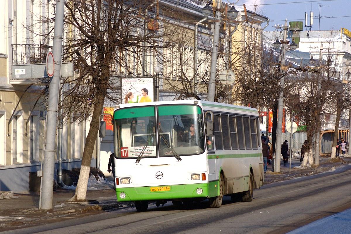 Vladimir region, LiAZ-5256.26 # ВС 279 33