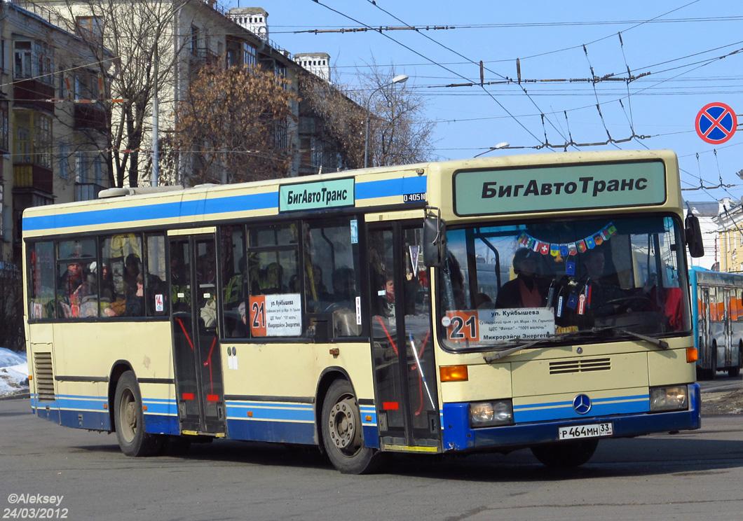 Vladimir region, Mercedes-Benz O405N2 # Р 464 МН 33