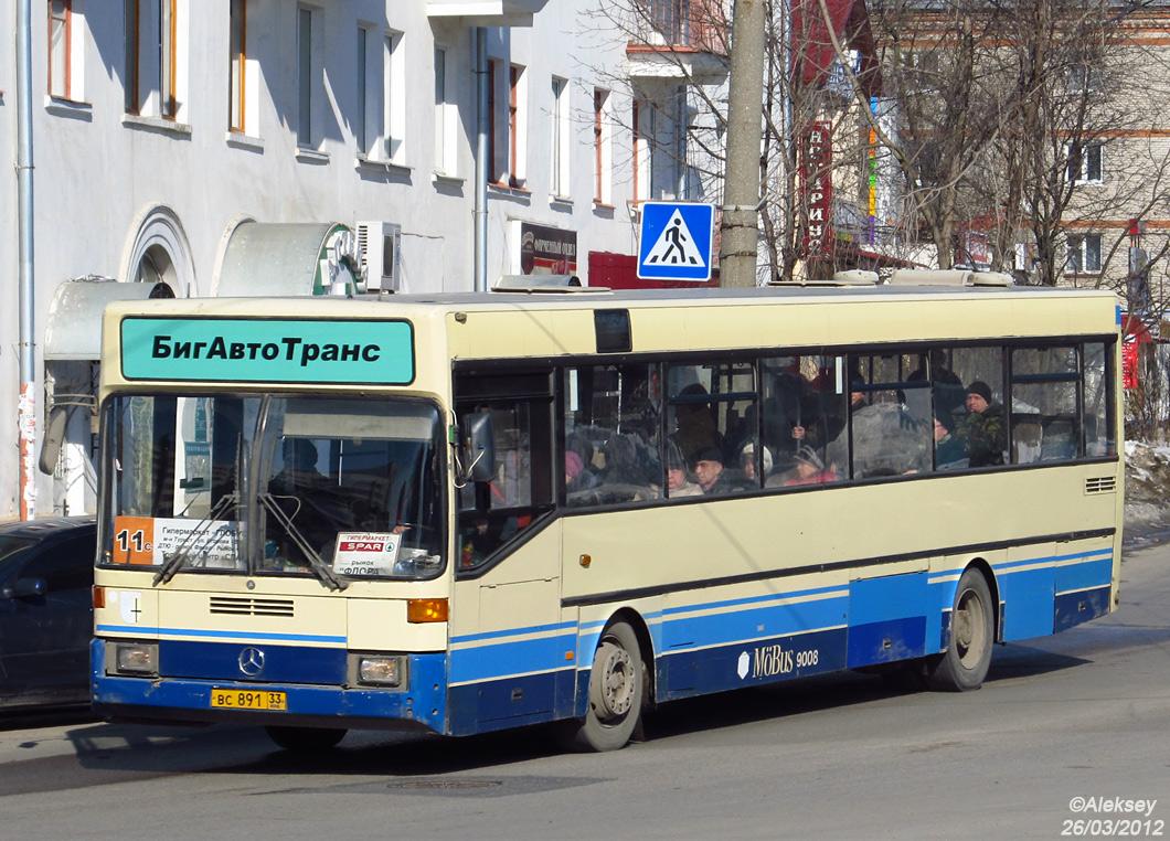 Vladimir region, Mercedes-Benz O405 # ВС 891 33
