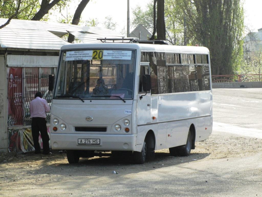 Almaty, I-VAN A07A-32 # 7033