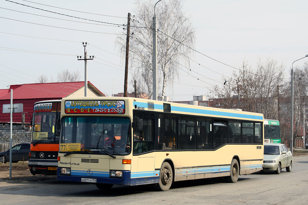 Perm region, Mercedes-Benz O405N2 # А 001 ТХ 159