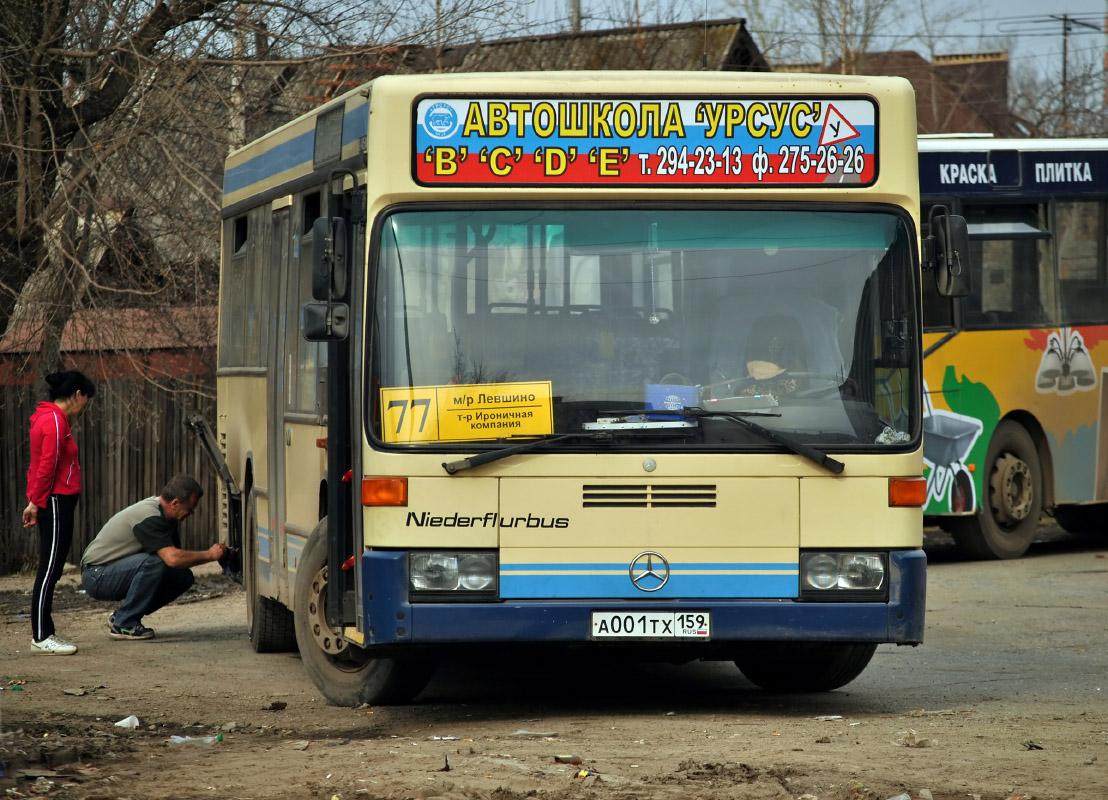 Perm region, Mercedes-Benz O405N2 # А 001 ТХ 159