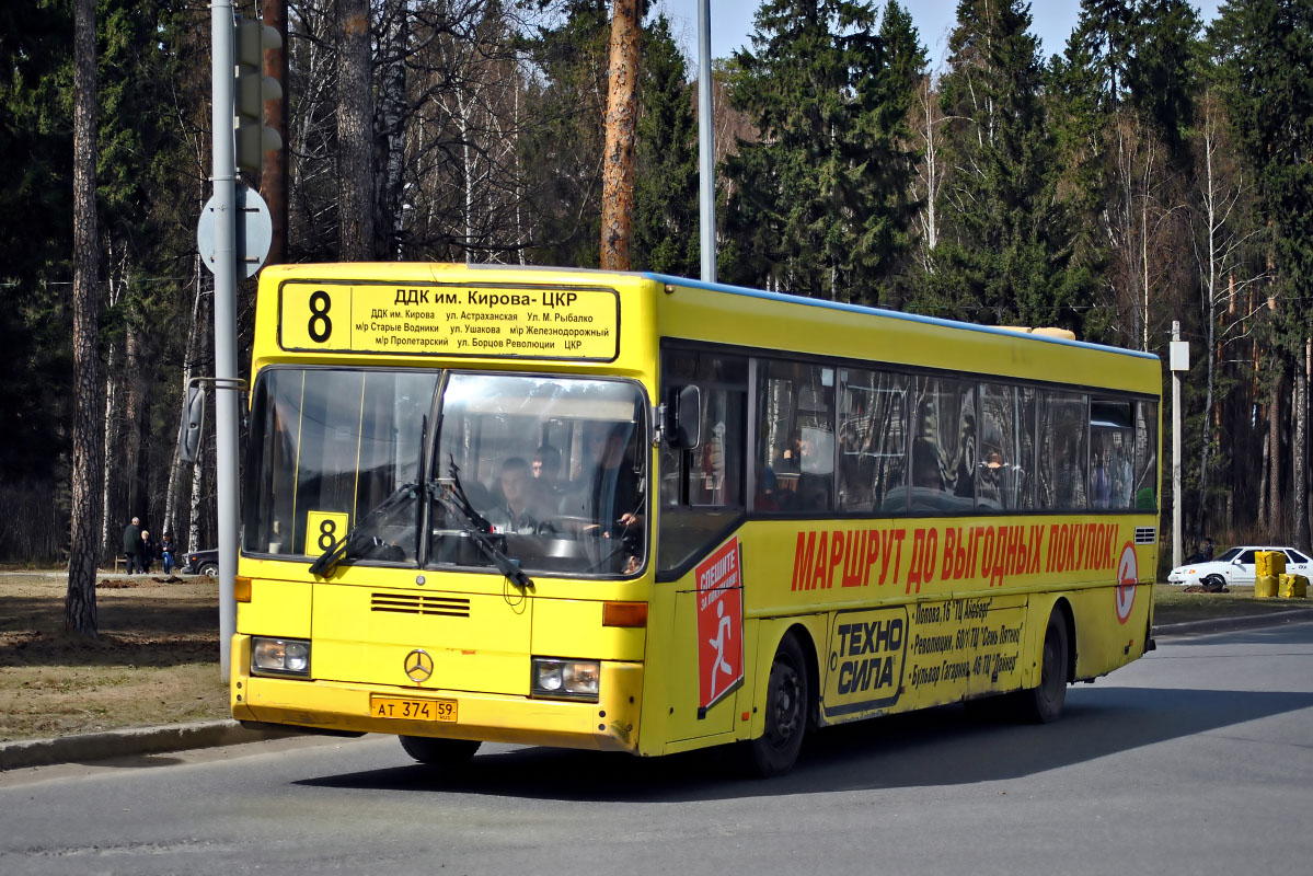 Perm region, Mercedes-Benz O405 # АТ 374 59