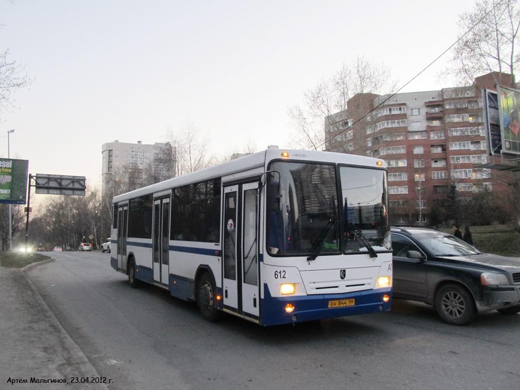 Sverdlovsk region, NefAZ-5299-20-32 (5299CSV) # 612