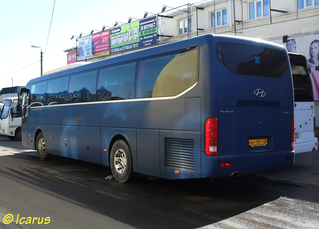 Bryansk region, Hyundai Universe Space Luxury # АМ 181 32