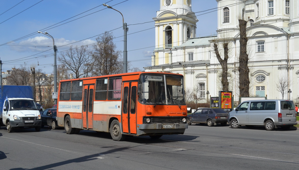 Saint Petersburg, Ikarus 280.33O # Т-29