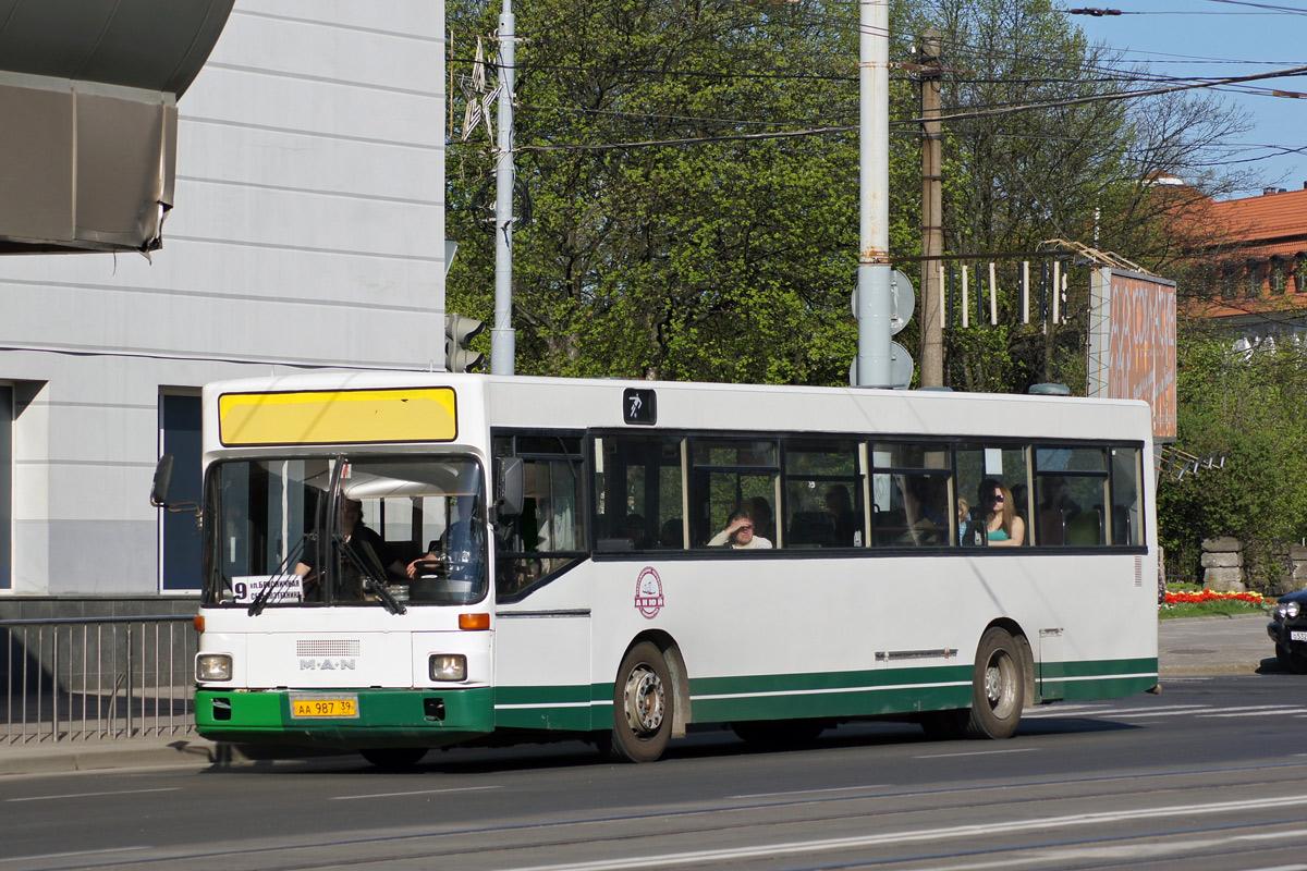 Kaliningrad region, MAN SL202 # АА 987 39