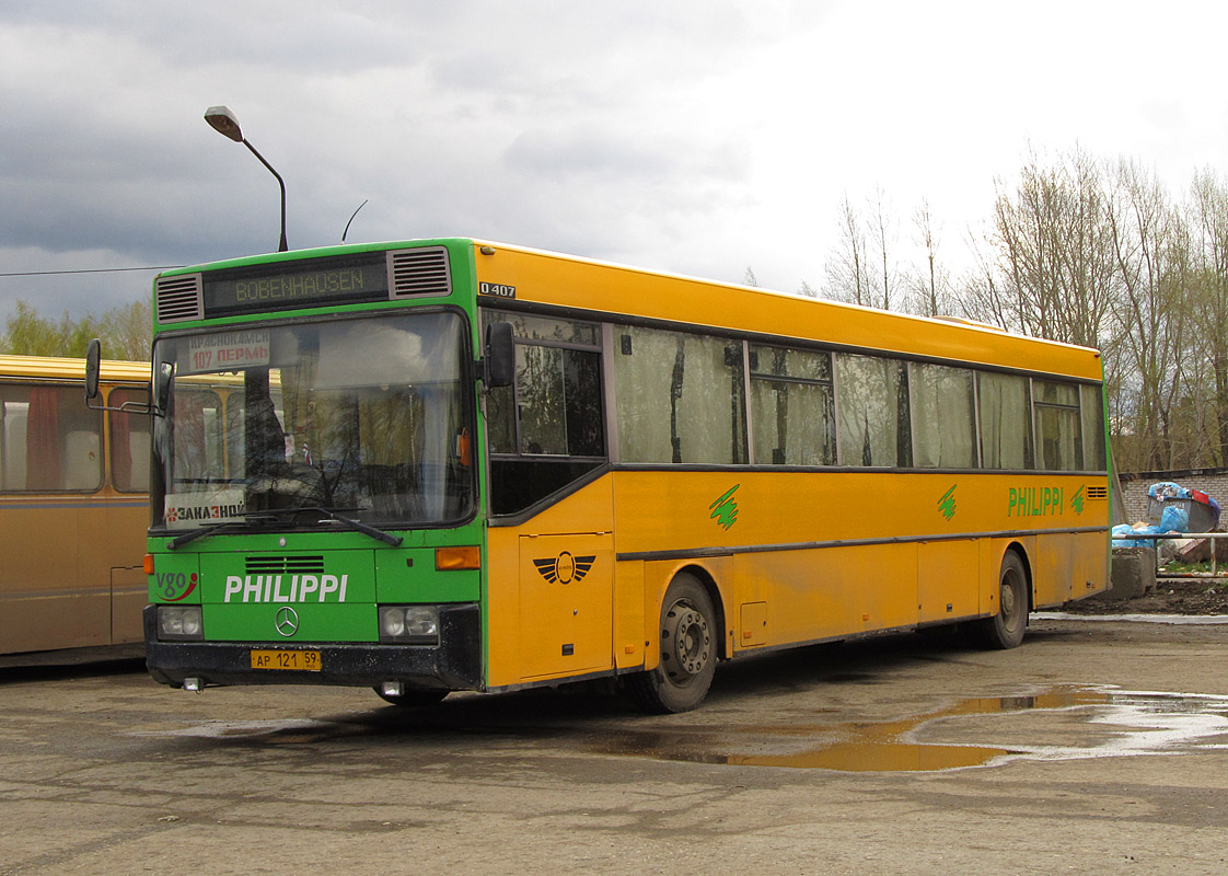 Perm region, Mercedes-Benz O407 # АР 121 59