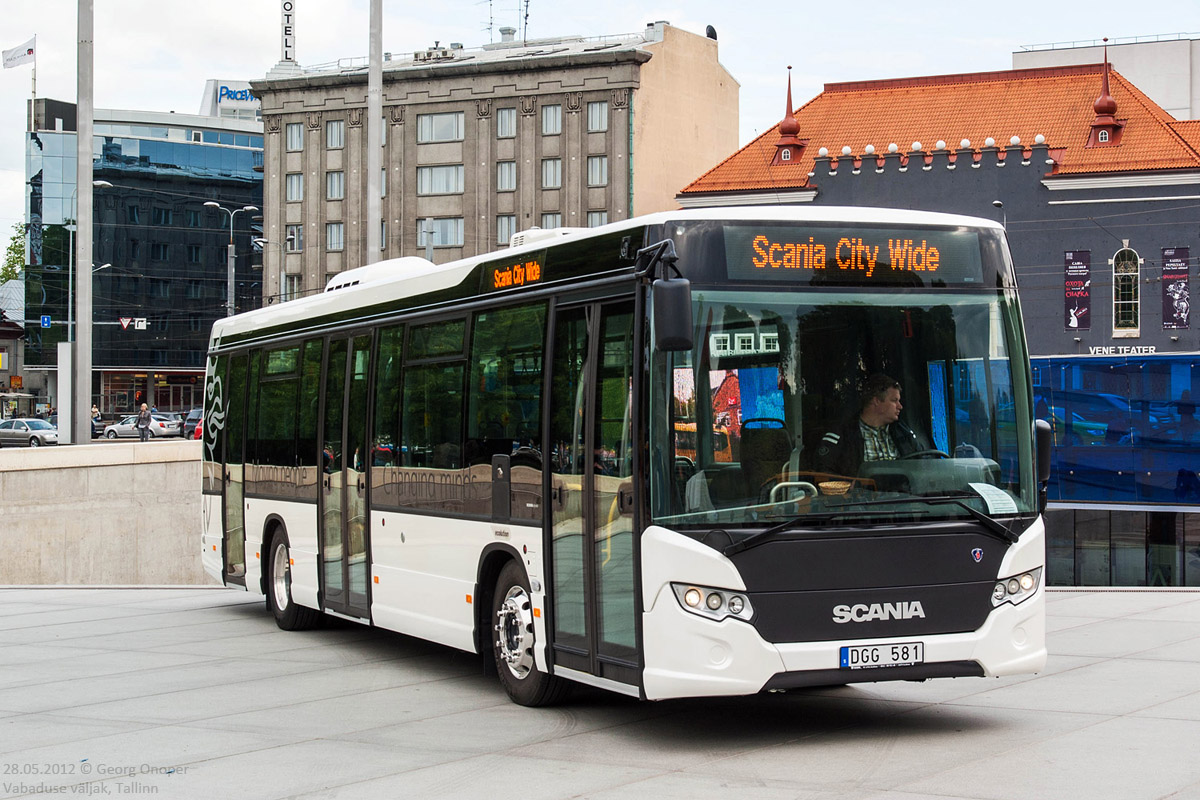 Sweden, Scania Citywide LE # Kowalski; Estonia — Tallinn bus traffic at different times