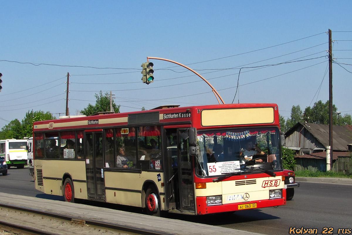 Altayskiy kray, Mercedes-Benz O405N2 # АС 063 22