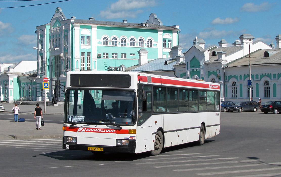 Vologda region, Mercedes-Benz O405N # АВ 418 35