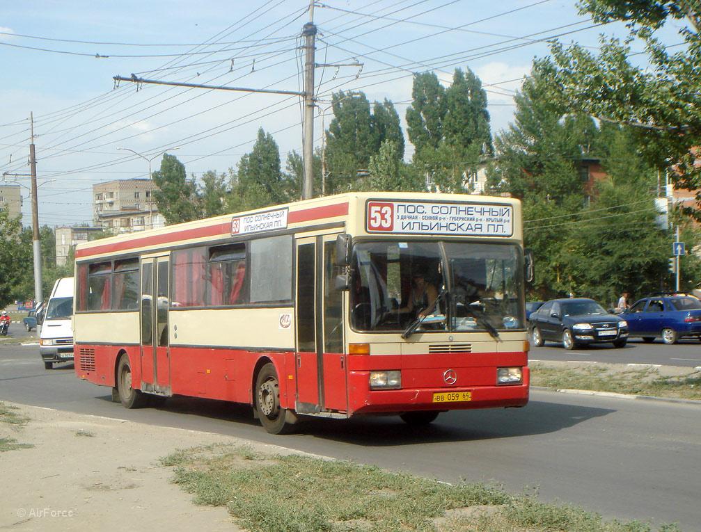Saratov region, Mercedes-Benz O405 # ВВ 059 64