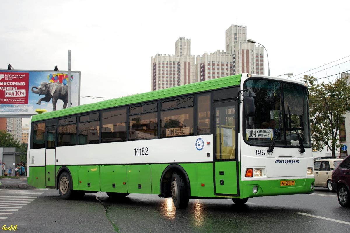 Москва, ЛиАЗ-5256.13 № 14182