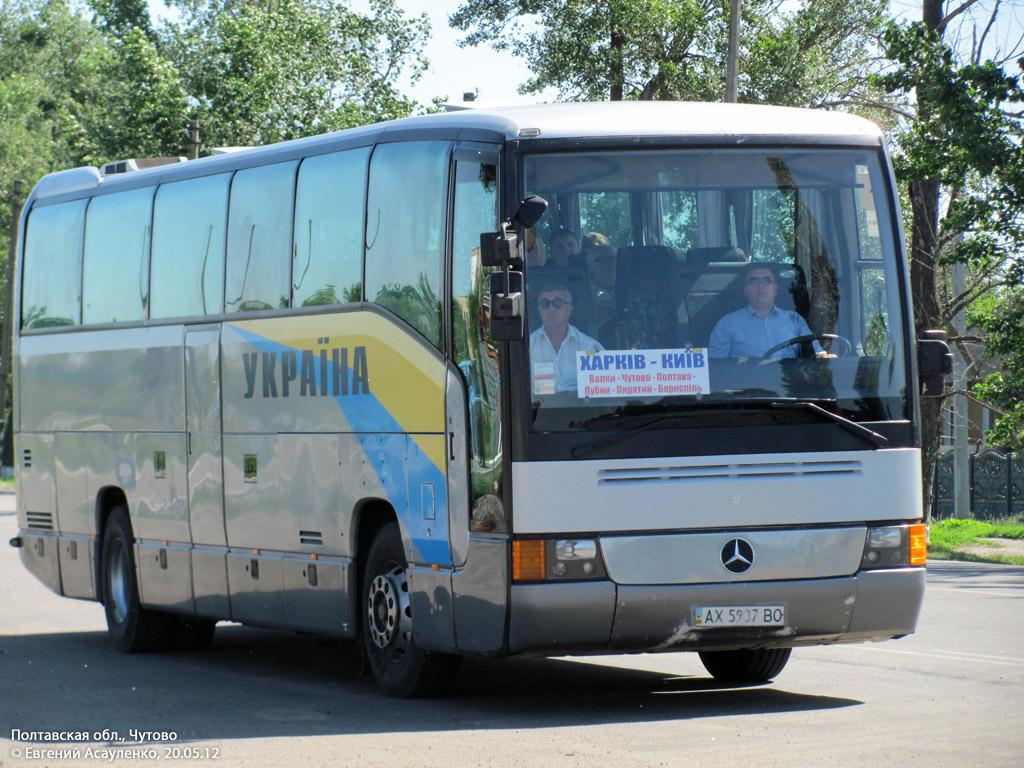 Kharkov region, Mercedes-Benz O404-15RHD # АХ 5907 ВО