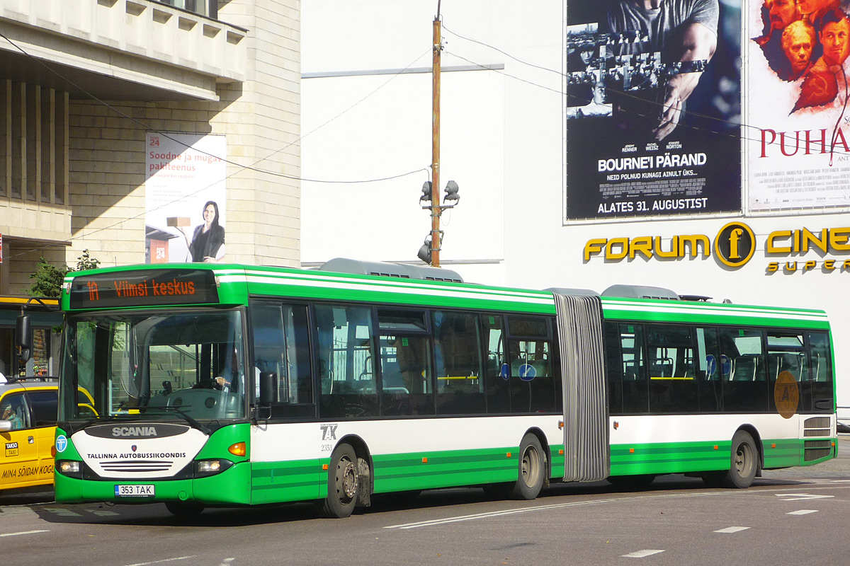 Эстония, Scania OmniLink CL94UA 6x2 LB № 2353