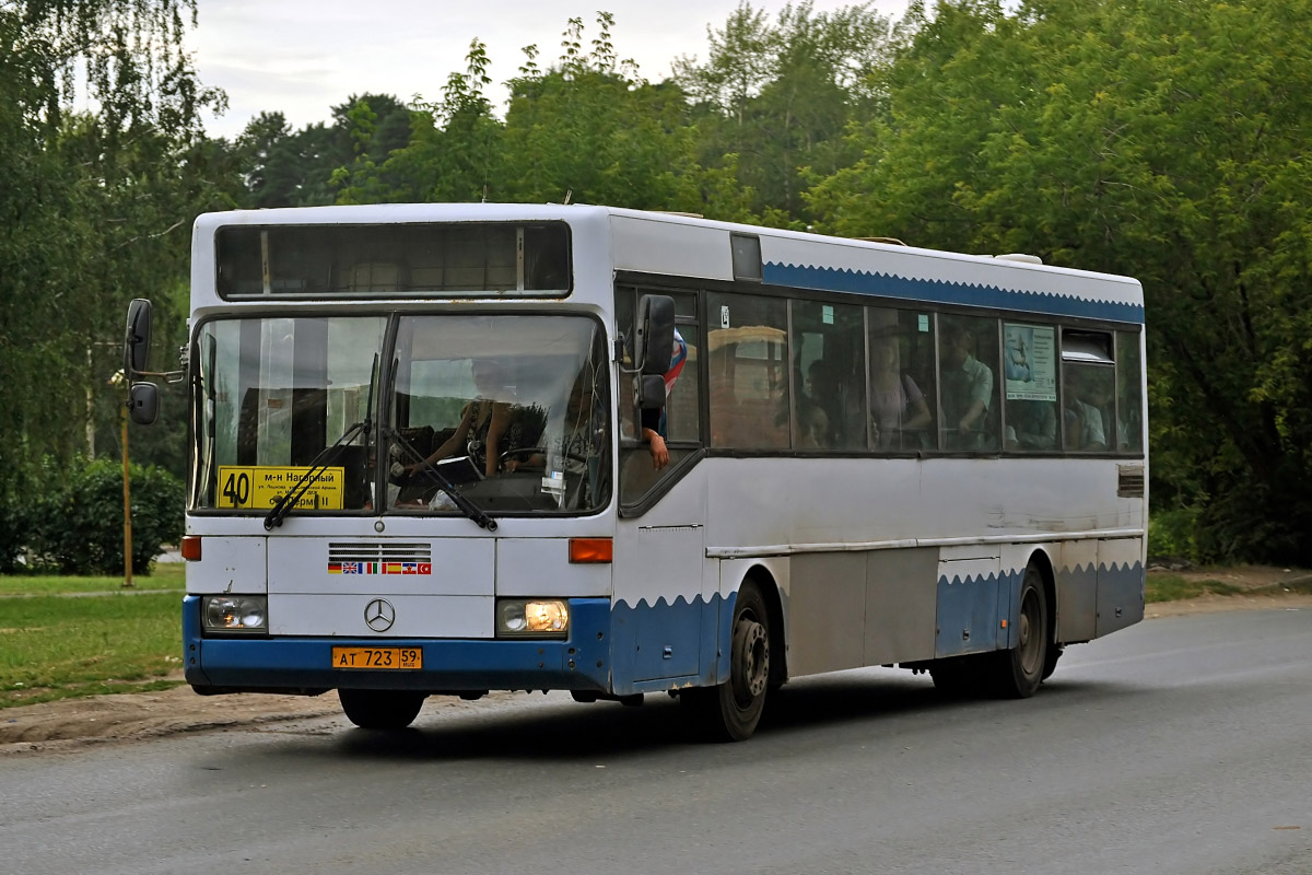 Perm region, Mercedes-Benz O405 # АТ 723 59