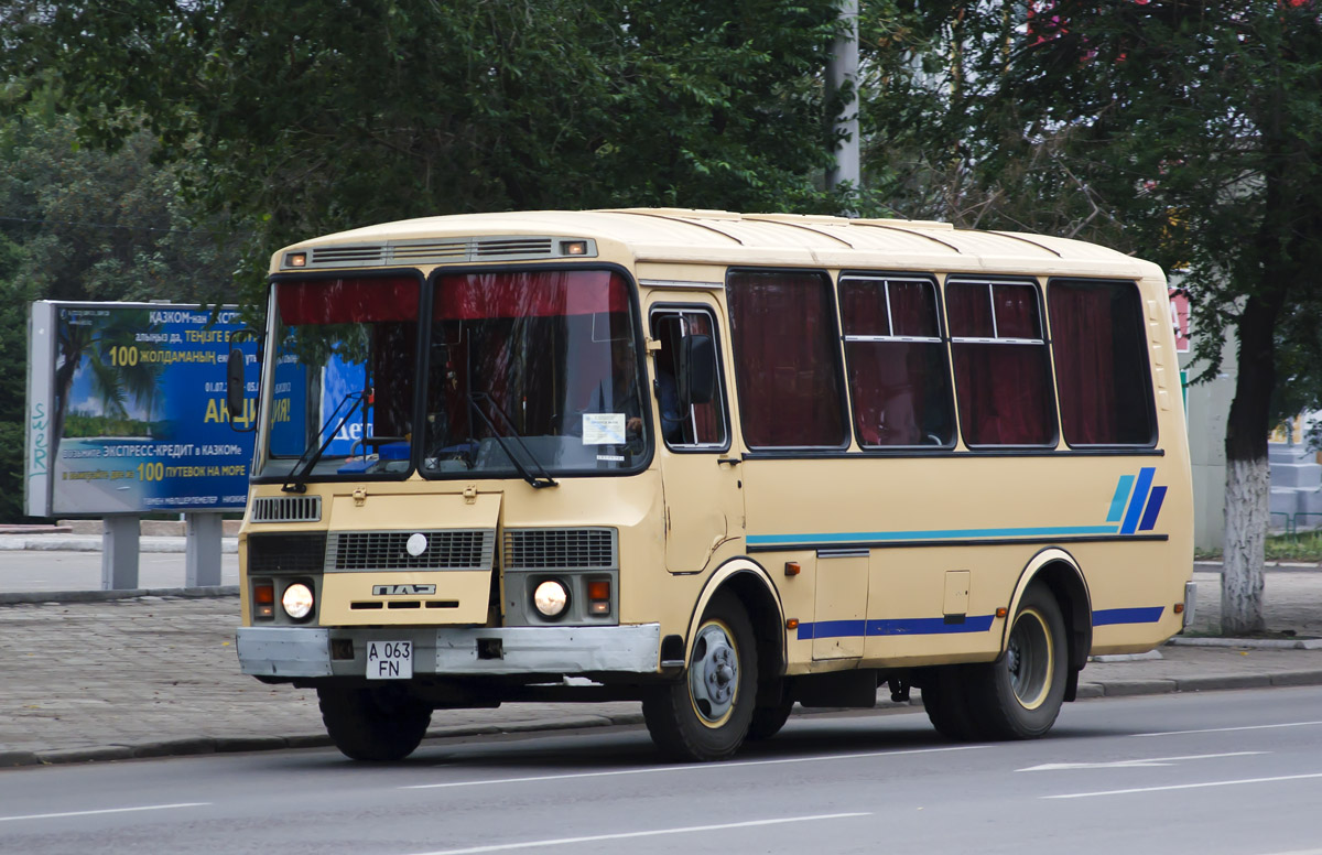 Almaty, PAZ-3205  (Common model) # A 063 FN