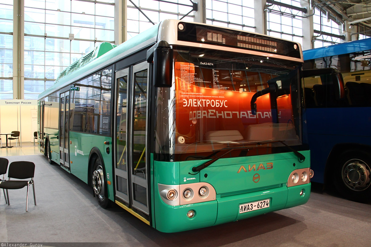 Moscow, LiAZ-6274 # 6274-0001; Moscow — ExpoCityTrans — 2012