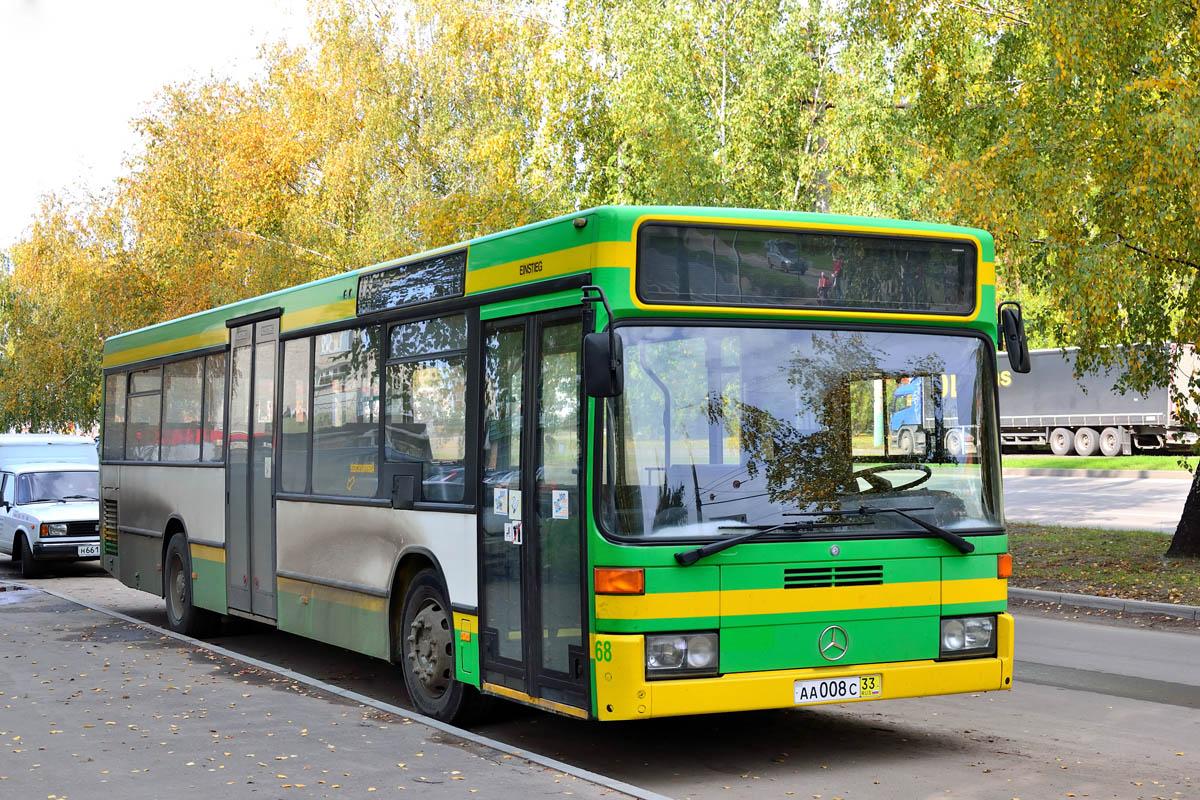 Penza region, Mercedes-Benz O405N2 # АА 008 С 33