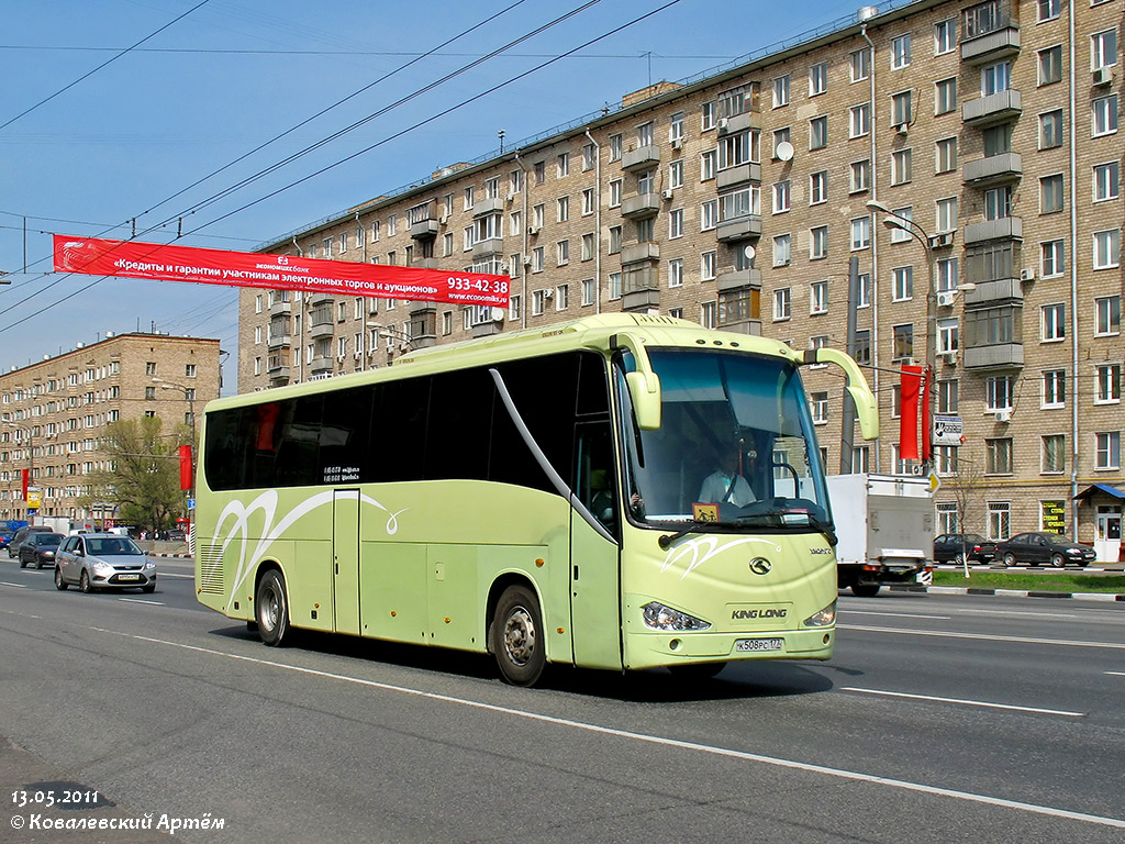 Moscow, King Long XMQ6127C # К 508 РС 177