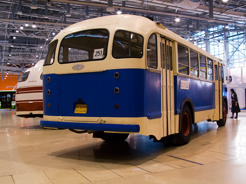 Moscow, ZiL-158V # 03; Moscow — ExpoCityTrans — 2012