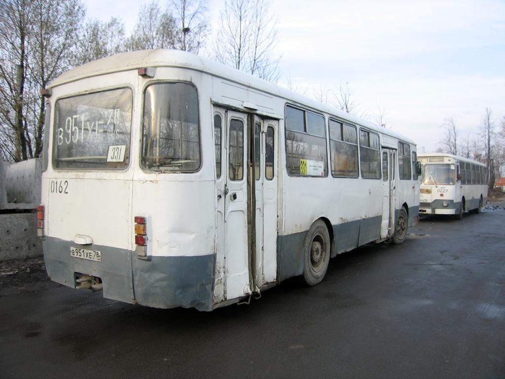 Saint-Petersburg, LiAZ-677M # 0162