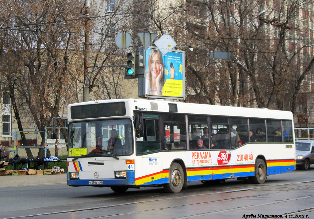 Perm region, Mercedes-Benz O405N2 # Т 590 ЕТ 59