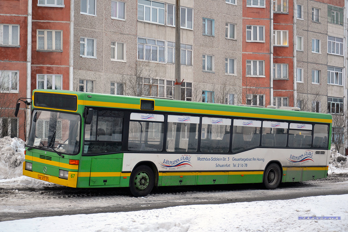 Murmansk region, Mercedes-Benz O405N2 # АВ 417 51