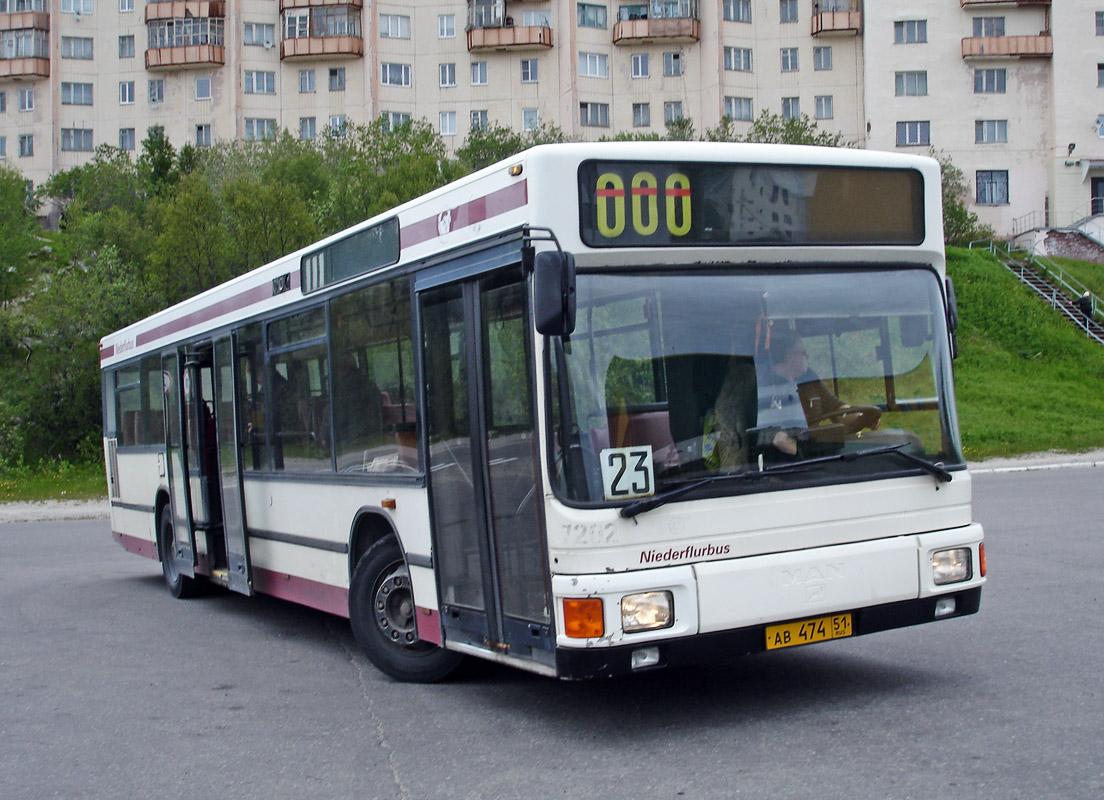 Murmansk region, MAN A10 NL202 # АВ 474 51