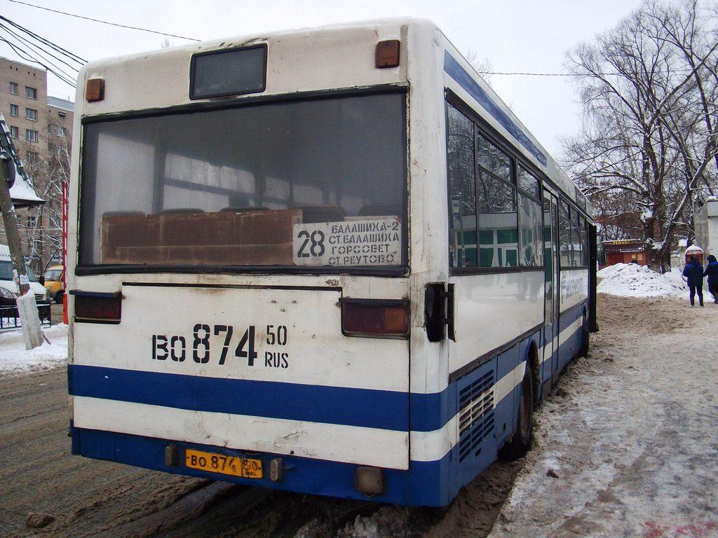 Moscow region, Mercedes-Benz O405 # 1061