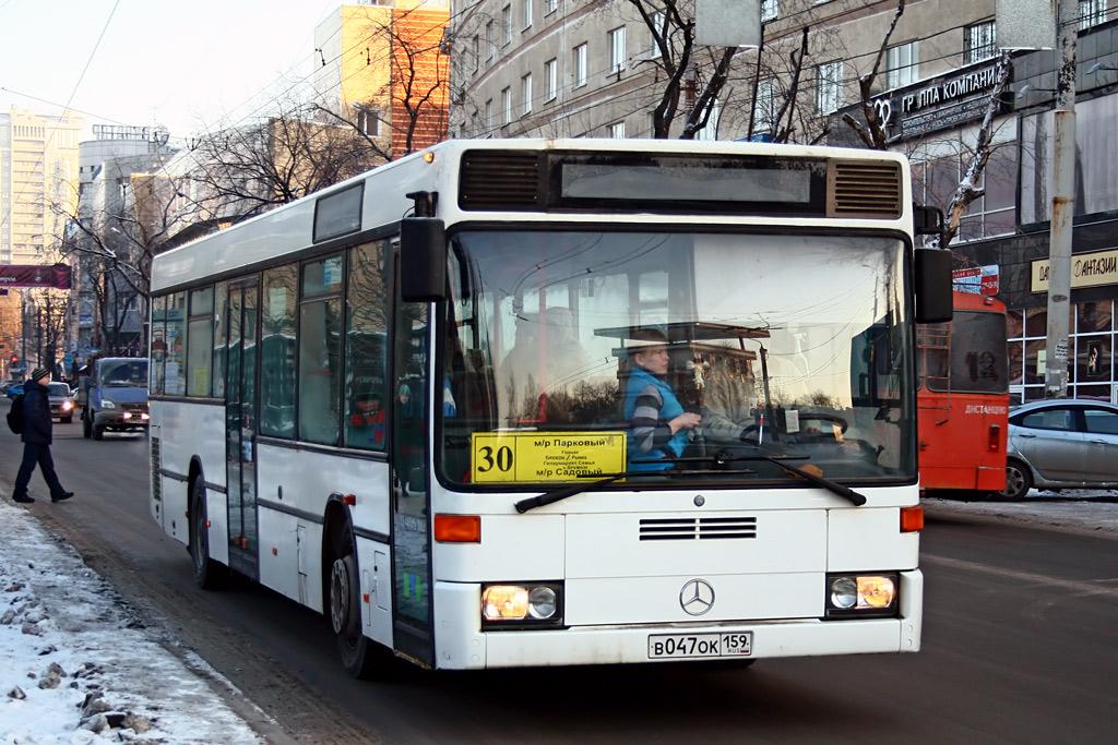Perm region, Mercedes-Benz O405N2Ü # В 047 ОК 159