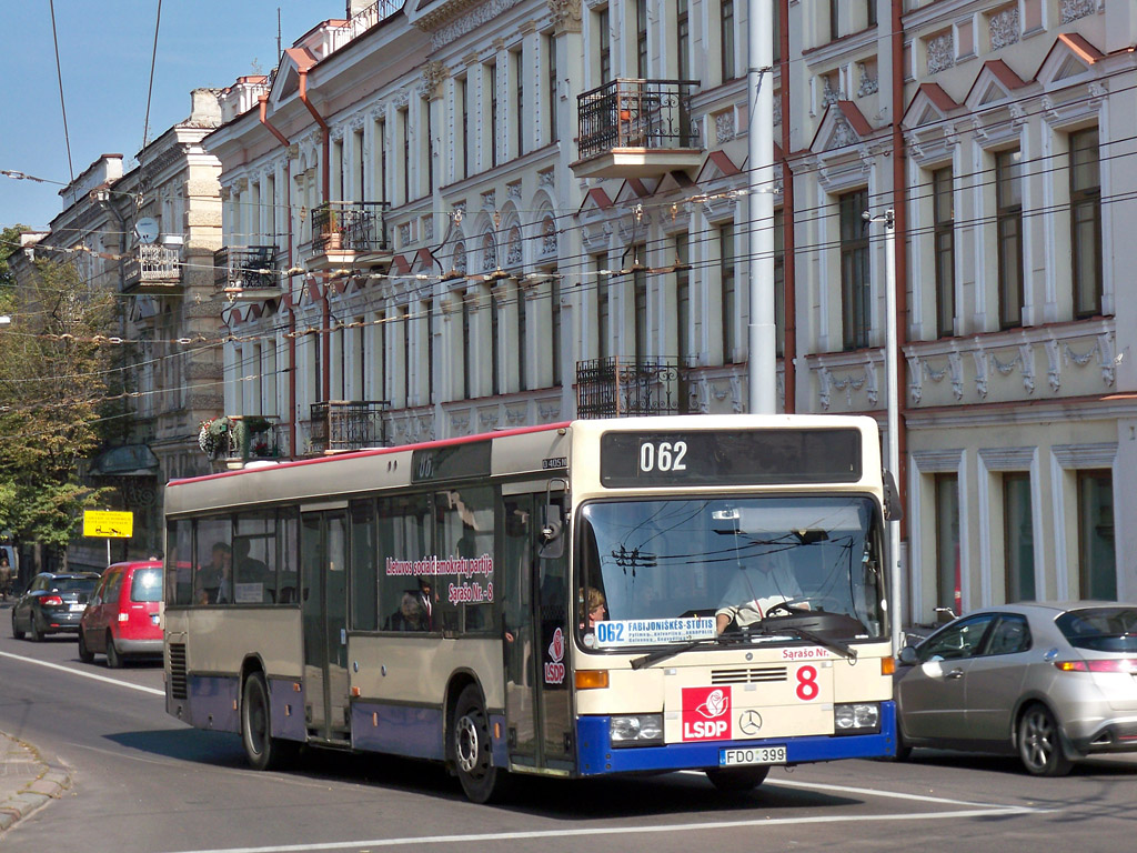 Lithuania, Mercedes-Benz O405N2 # FDO 399
