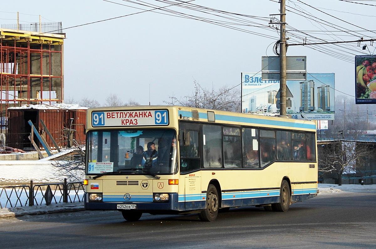 Krasnoyarsk region, Mercedes-Benz O405N2 # О 252 ЕВ 124