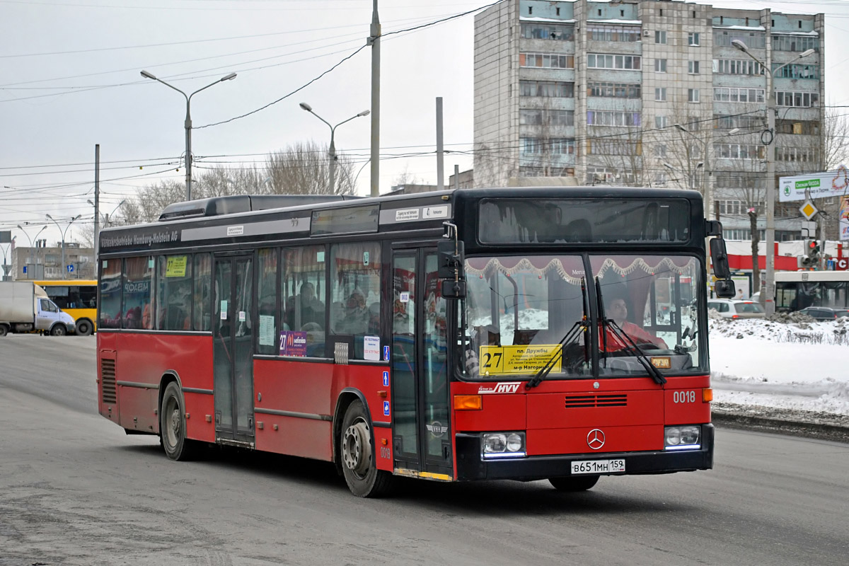Perm region, Mercedes-Benz O405N2 # В 651 МН 159