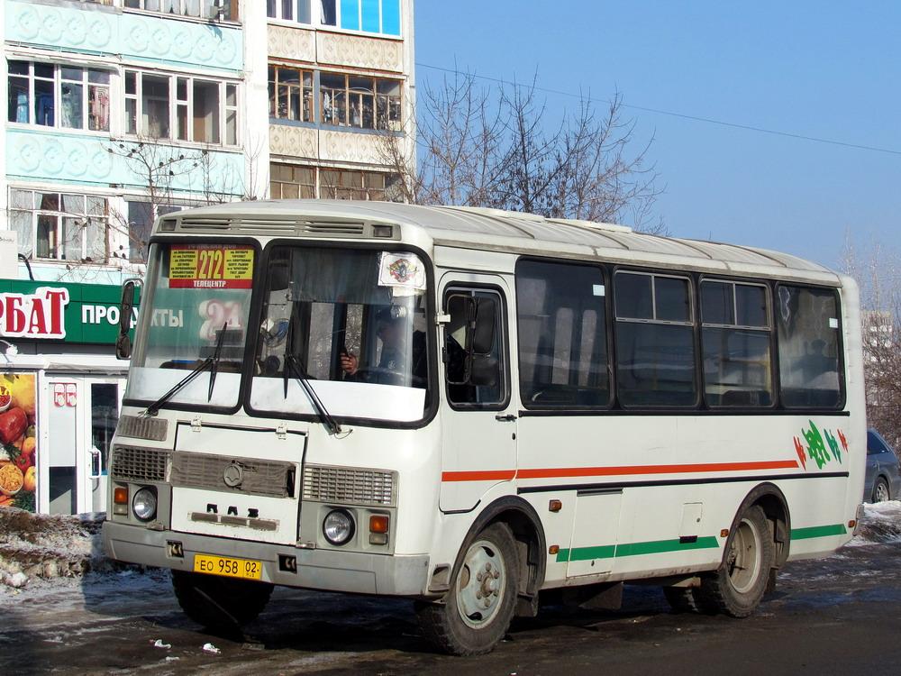 Bashkortostan, PAZ-32054 (40, K0, H0, L0) # ЕО 958 02