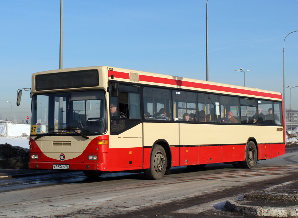 Sverdlovsk region, Mercedes-Benz O405N (SAM) # Х 953 КО 96