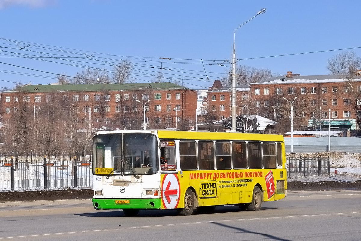 Тульская область, ЛиАЗ-5256.45 № 562