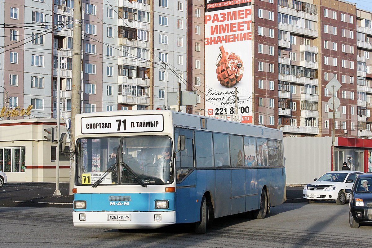 Krasnoyarsk region, MAN SL202 # Е 283 КЕ 124