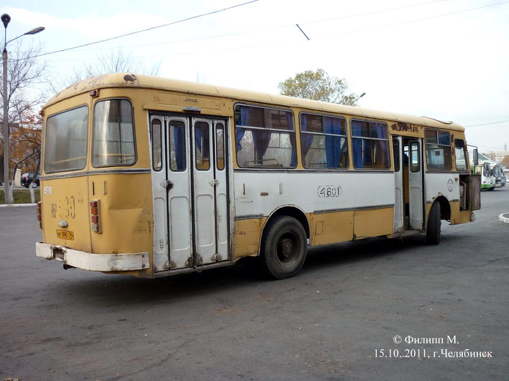 Chelyabinsk region, LiAZ-677M # 4601