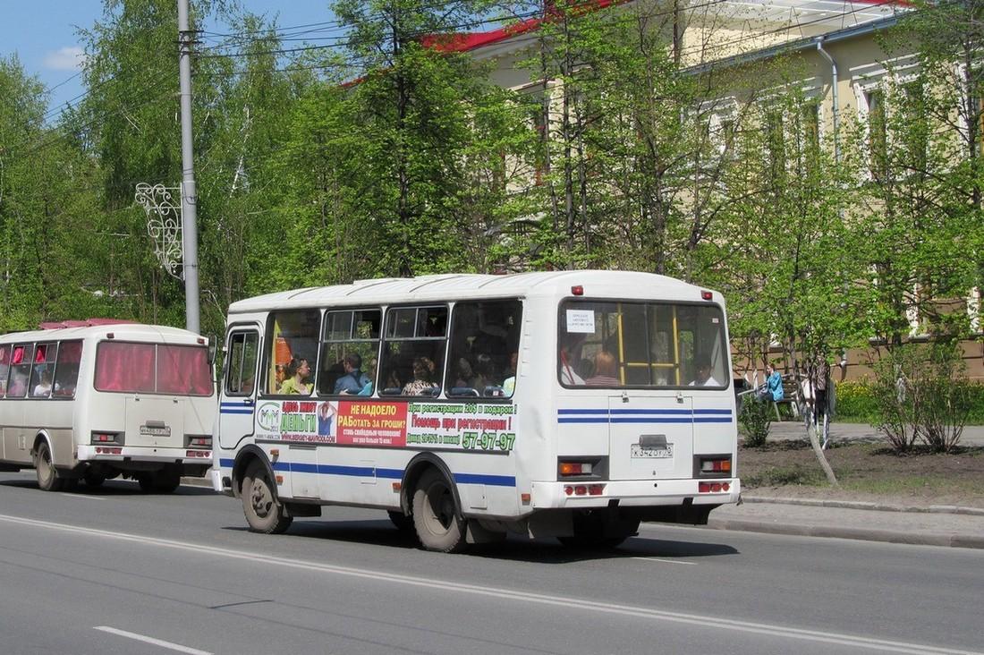 Tomsk region, PAZ-32054 (40, K0, H0, L0) # К 342 ОУ 70