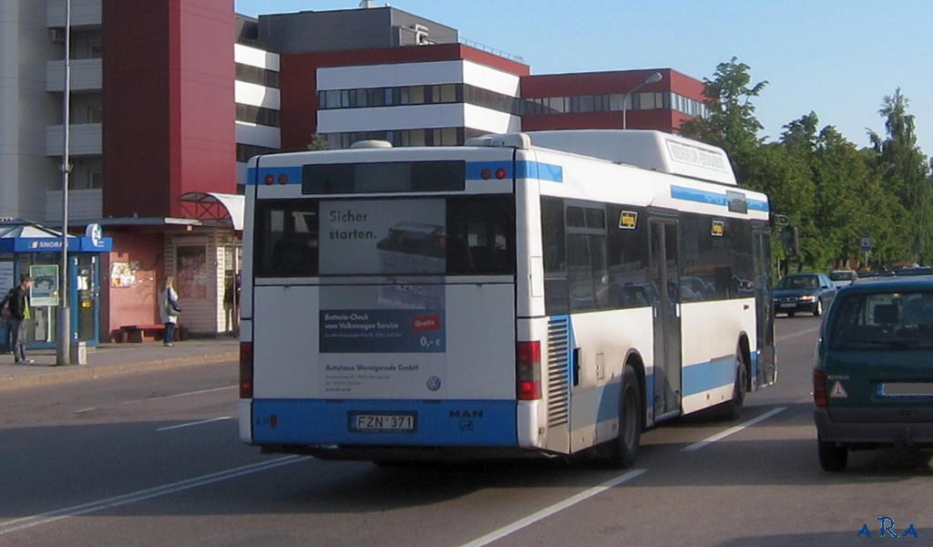 Lithuania, MAN A20 NÜ233 CNG # FZN 371
