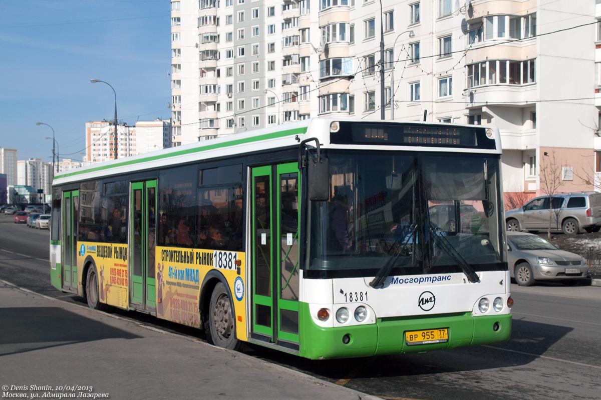 Moscow, LiAZ-5292.20 # 18381